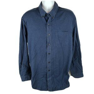 LL Bean Traditional Fit Button Front Shirt